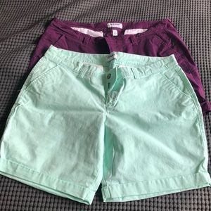 Old Navy Size 14 Bermuda Shorts